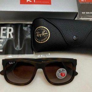 🌟RayBan RB4165 Justin Tortoise Brown Sunglasses